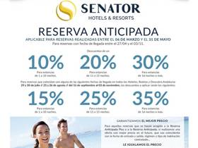VENTA ANTICIPADA HOTELES PLAYA SENATOR
